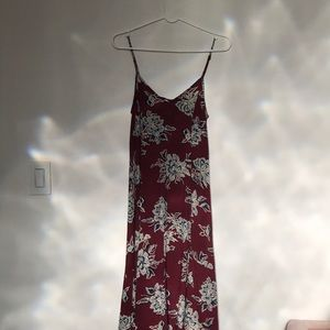 Abercrombie & Fitch floor length dress